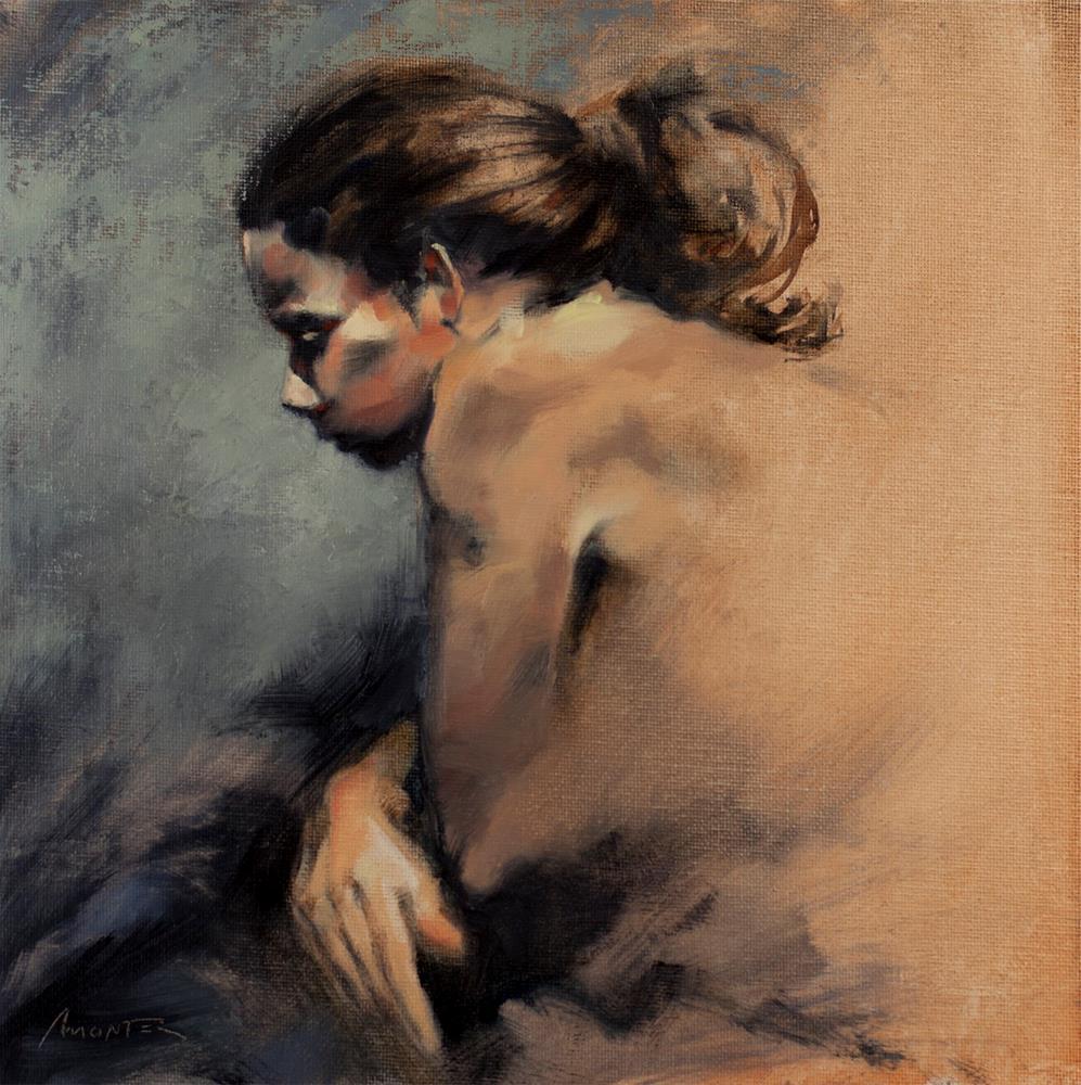 """""""Black mood"""" original fine art by Thierry Monter"""