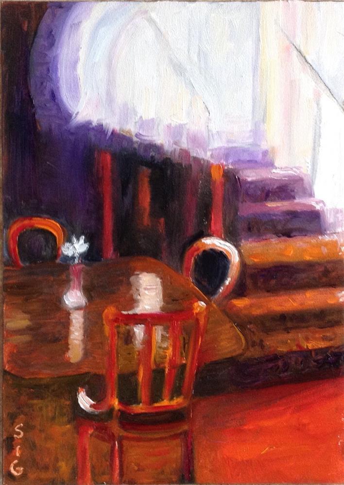 """""""Mendocino Hotel"""" original fine art by Sigrid Victor"""