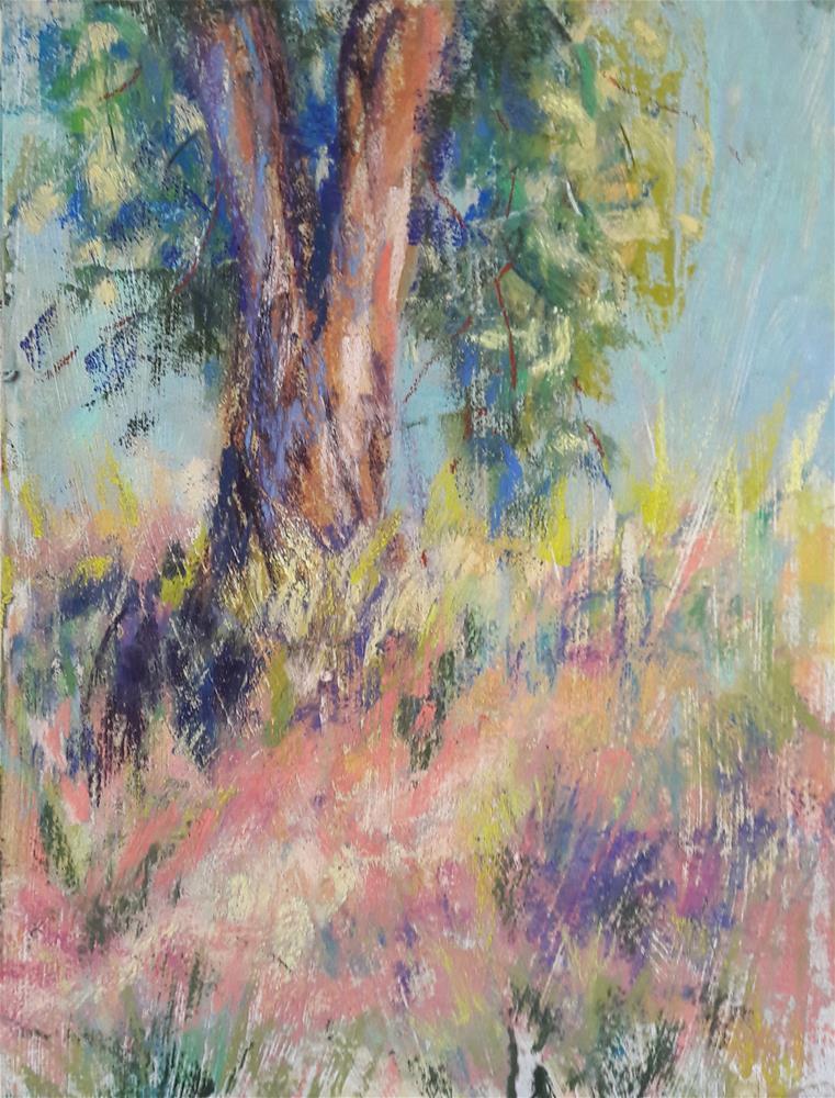 """Silent Sentinel"" original fine art by Becky Chappell"