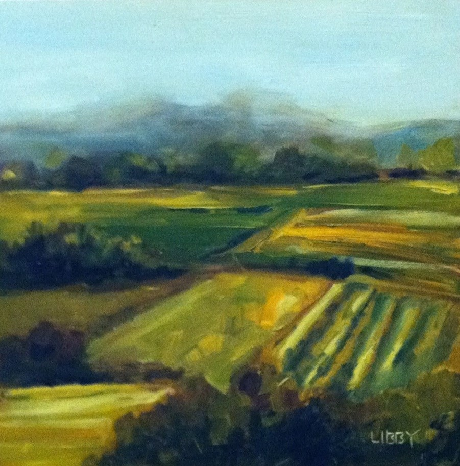"""Countryside"" original fine art by Libby Anderson"