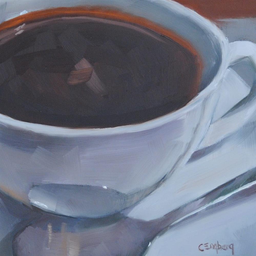 """Morning Joe"" original fine art by Cathy Engberg"
