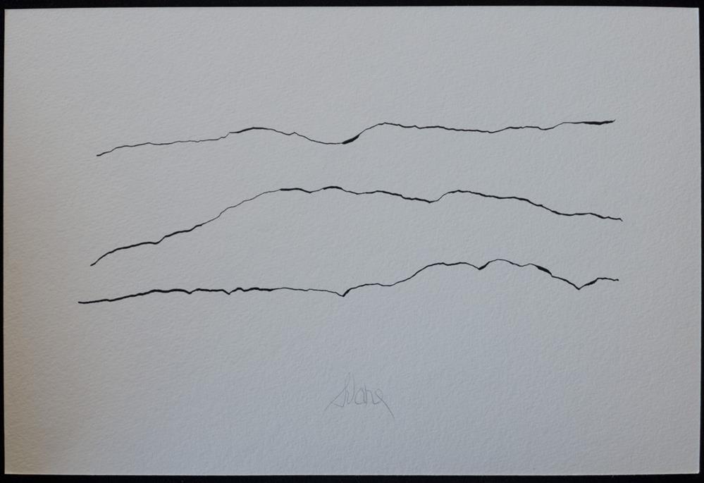 """AIR OVER ROCK"" original fine art by Craig Svare"