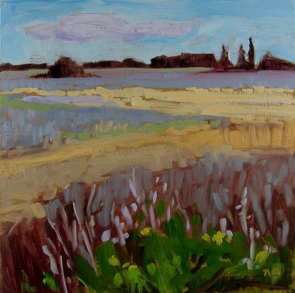 """Tiny Prairie"" original fine art by Nicki Ault"