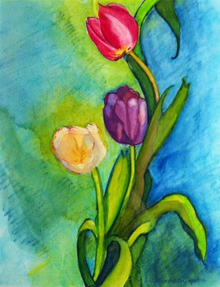 """Back to Spring"" original fine art by Libby Gilpatric"