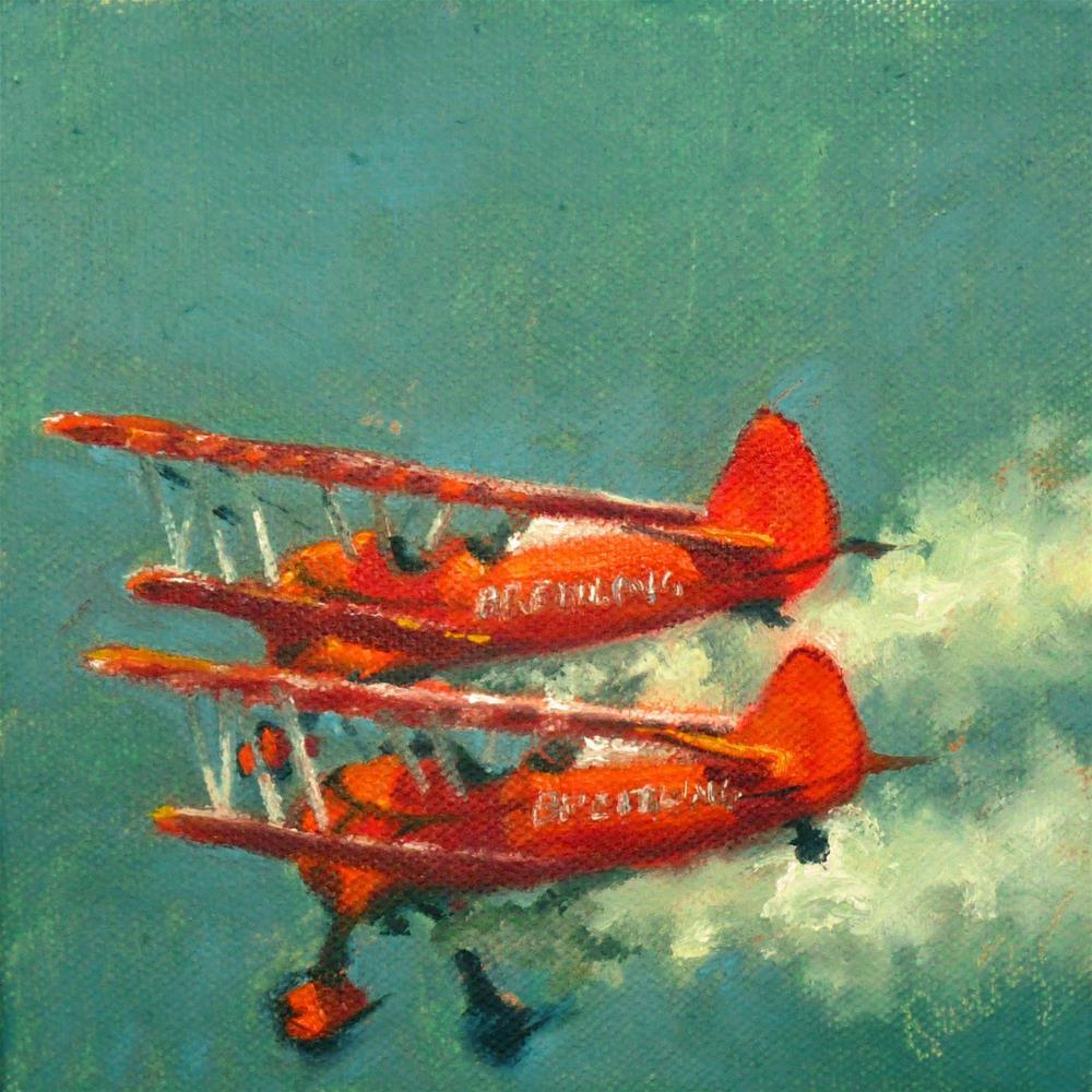 """""""Devil's Duo"""" original fine art by Sharman Owings"""