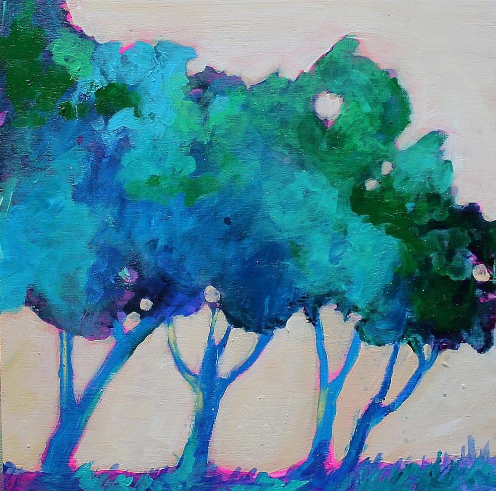 """Tree Study"" original fine art by Kerri Blackman"