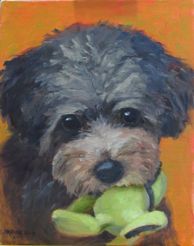 """""""Maggie"""" original fine art by Christine Lewis"""