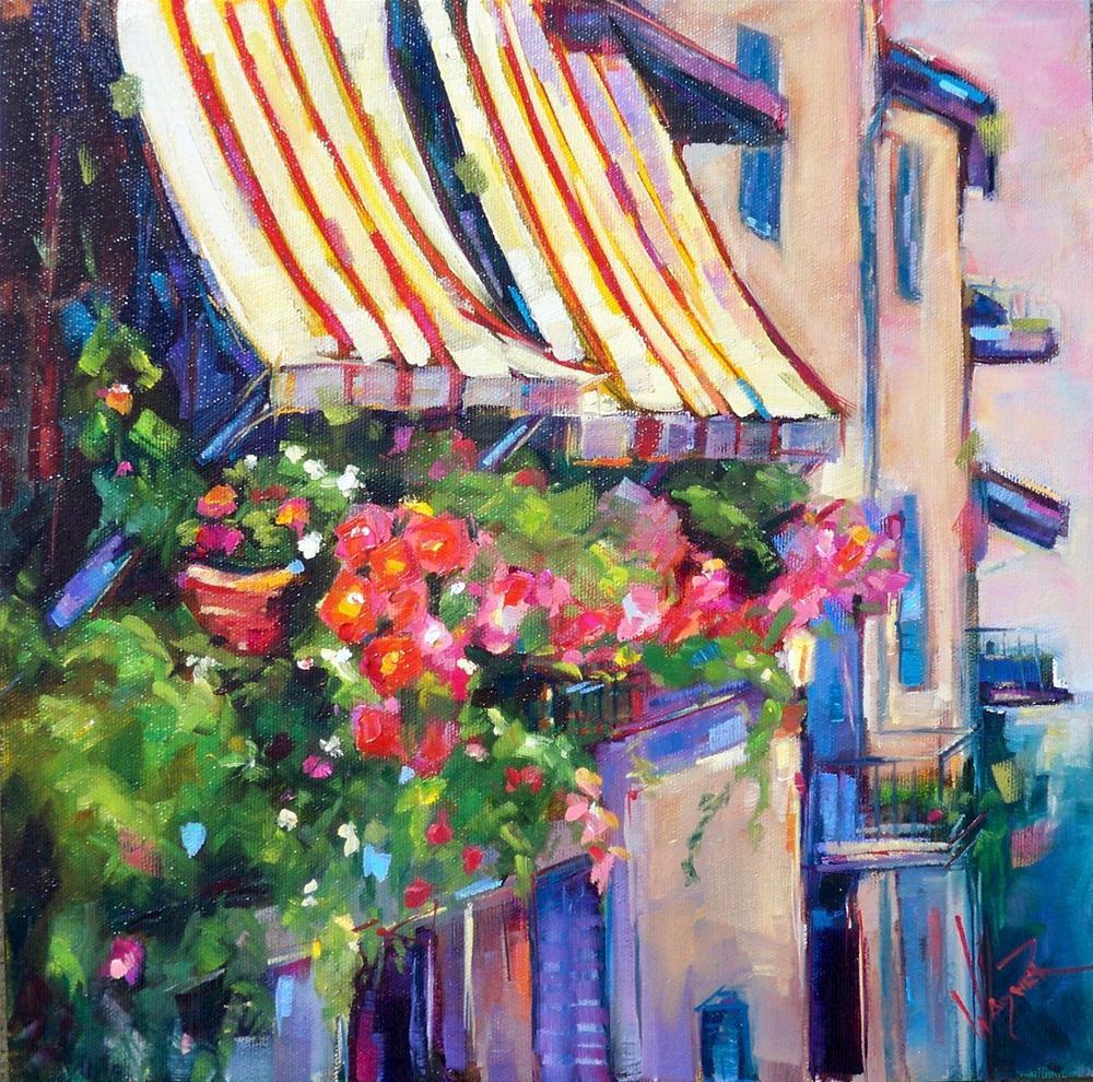 """AH, ITALY!"" original fine art by Olga Wagner"