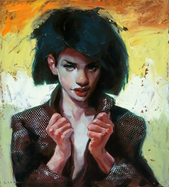 """Zeal"" original fine art by John Larriva"