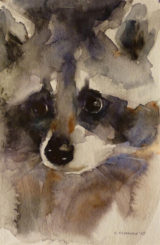 """wildlife1"" original fine art by Katya Minkina"