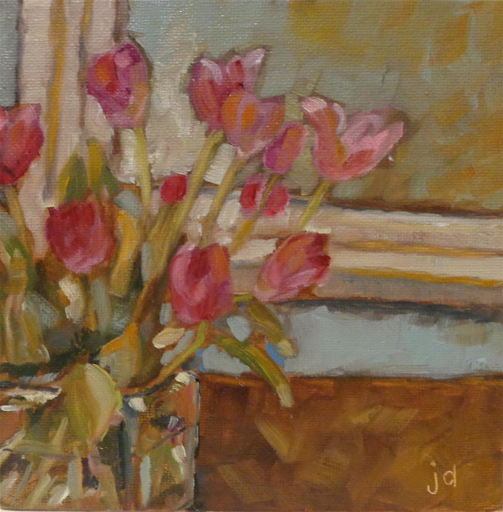 """Spring in January"" original fine art by Jean Delaney"