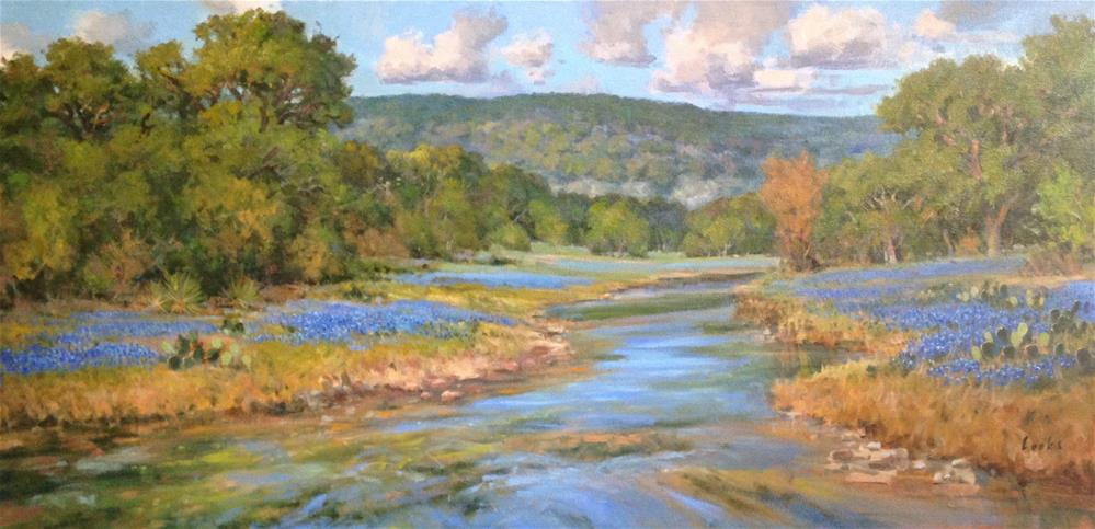 """Welcome Spring"" original fine art by David Forks"