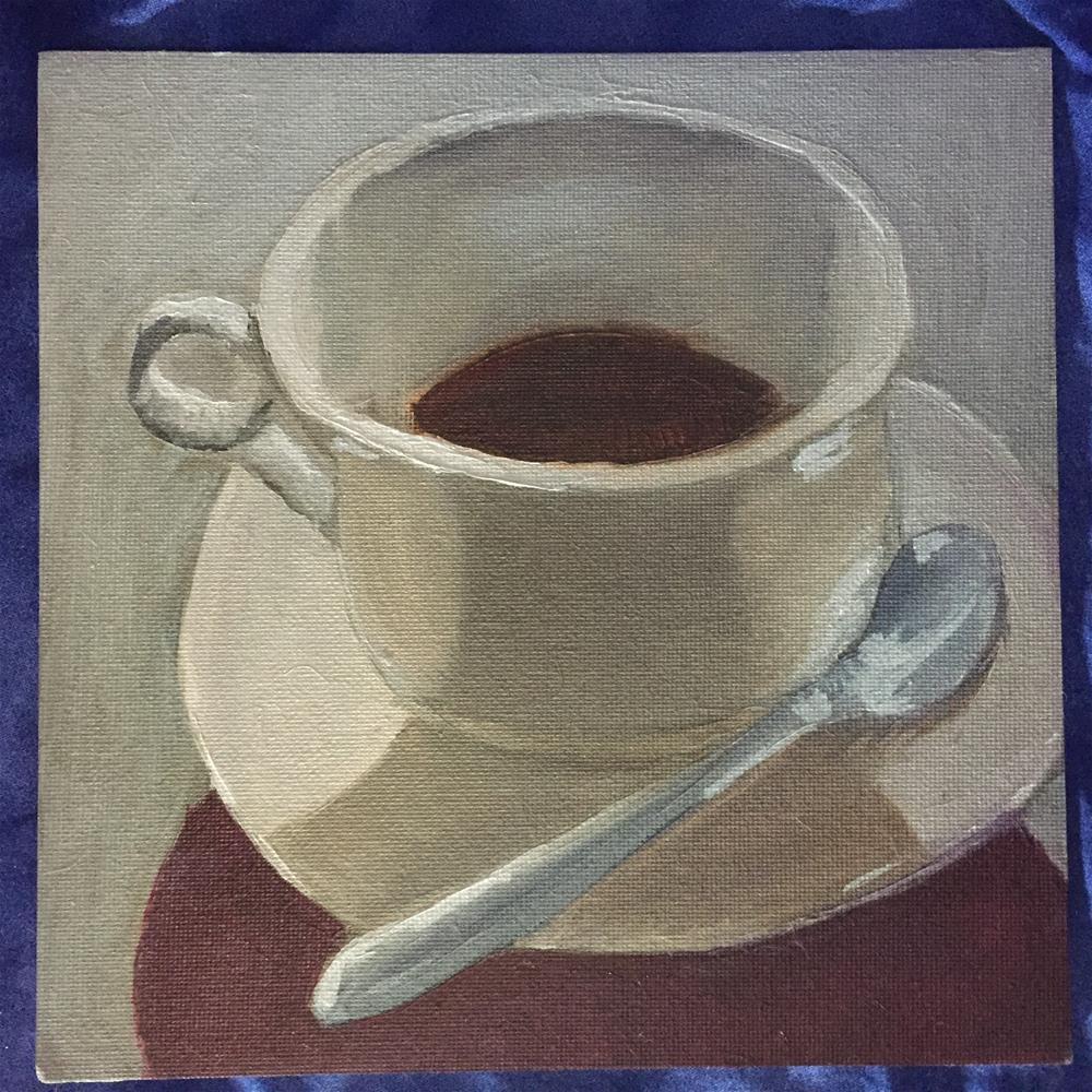 """Bright Light Americano"" original fine art by Julie Ratcliff"