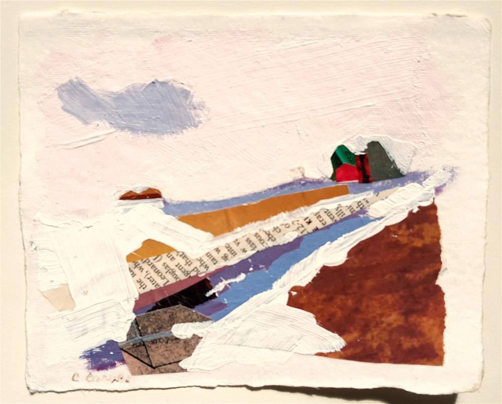 """Road Home"" original fine art by Cindy Carrillo"
