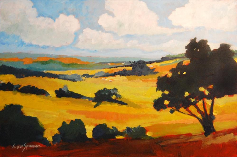 """California 2011"" original fine art by Cornelis vanSpronsen"