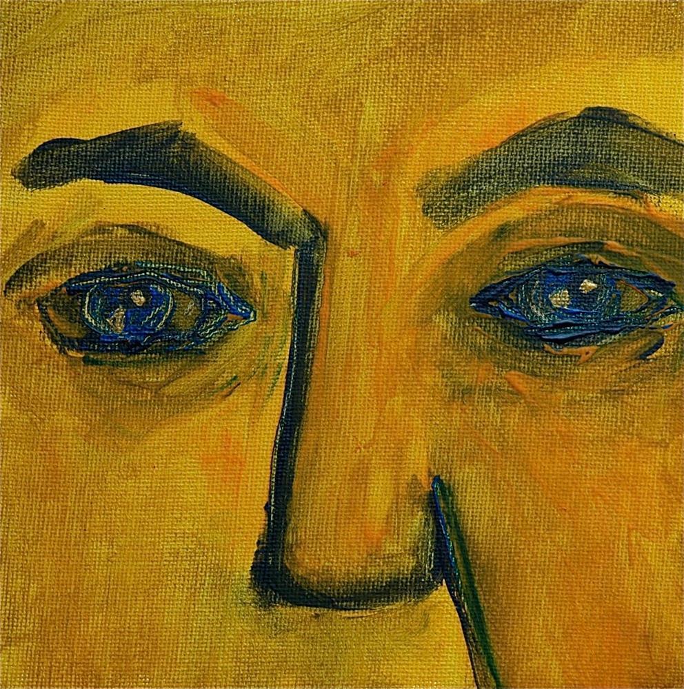 """Self"" original fine art by Ulrike Schmidt"