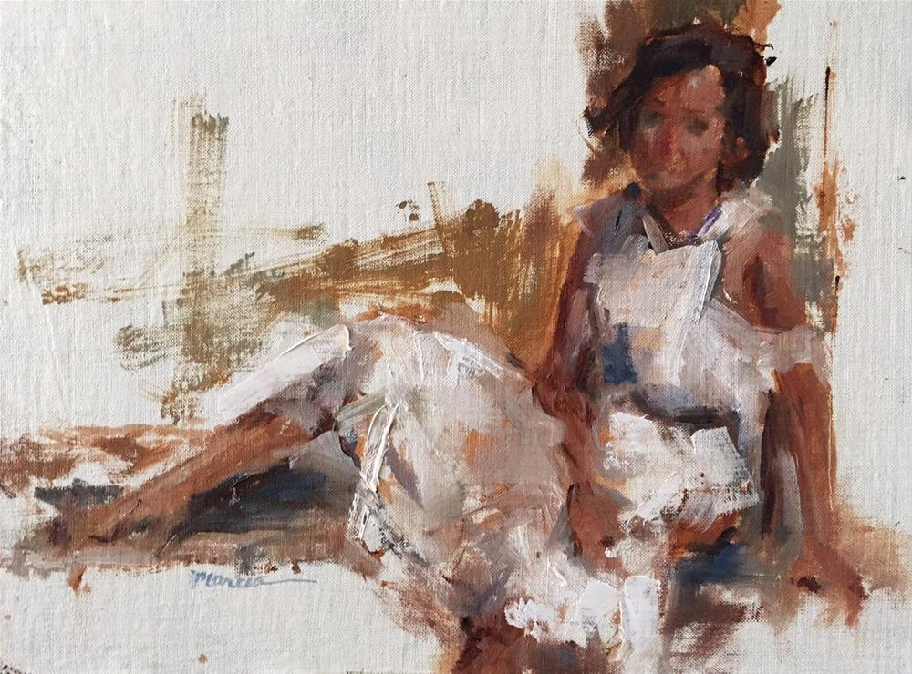 """Lauren"" original fine art by Marcia Hodges"