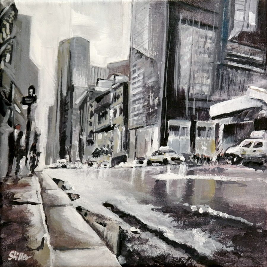 """1581 New York Sublimation"" original fine art by Dietmar Stiller"