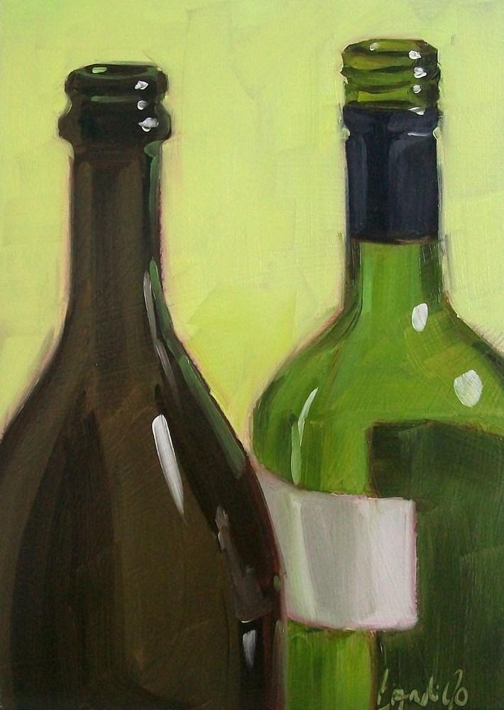 """Wino26"" original fine art by Brandi Bowman"