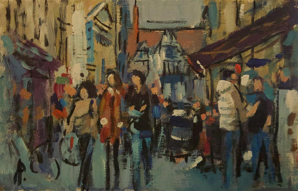 """Argyll Street, London"" original fine art by Andre Pallat"