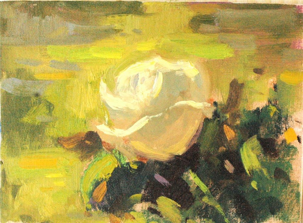 """Outdoor Rose III"" original fine art by Michael Clark"