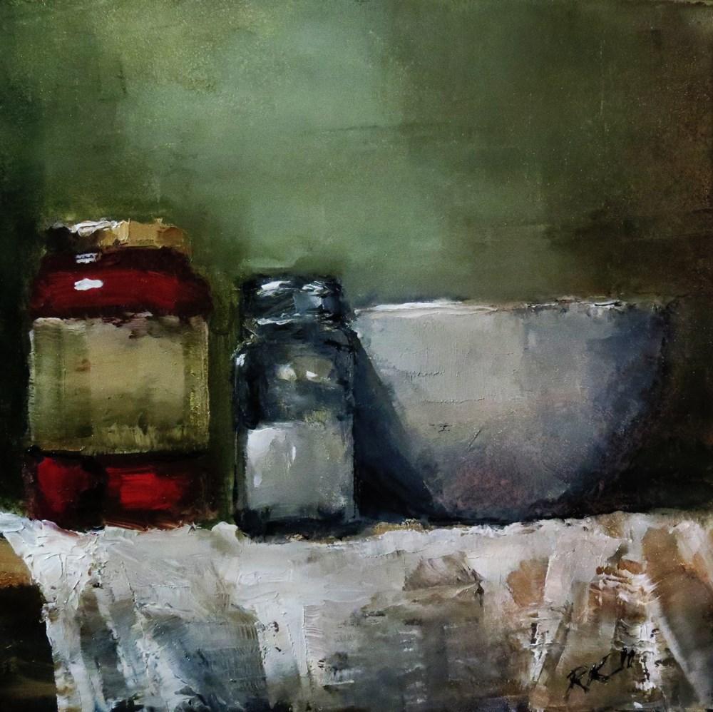 """""""Bowl, Peppers, Salt"""" original fine art by Bob Kimball"""