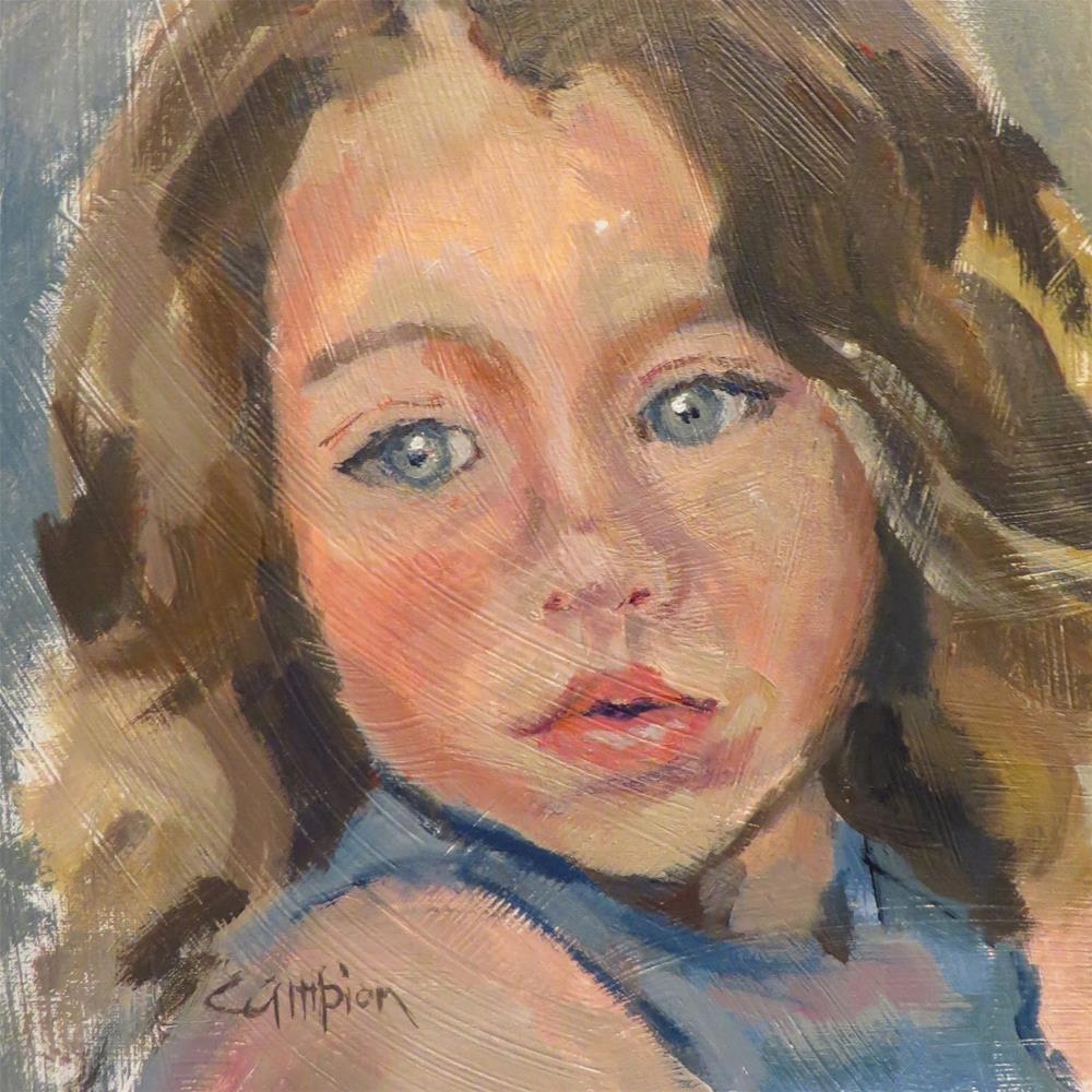 """738 Innocence"" original fine art by Diane Campion"