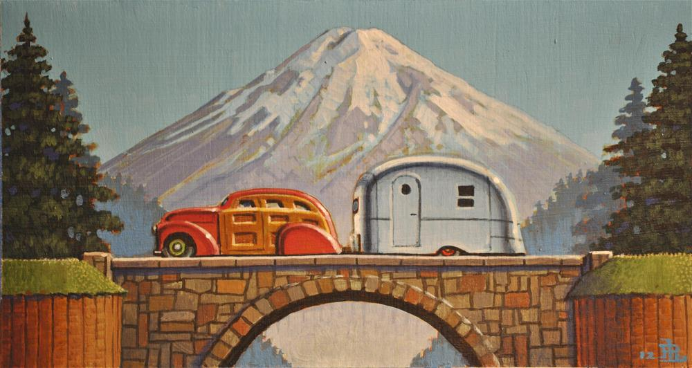 """Snow Capped"" original fine art by Robert LaDuke"