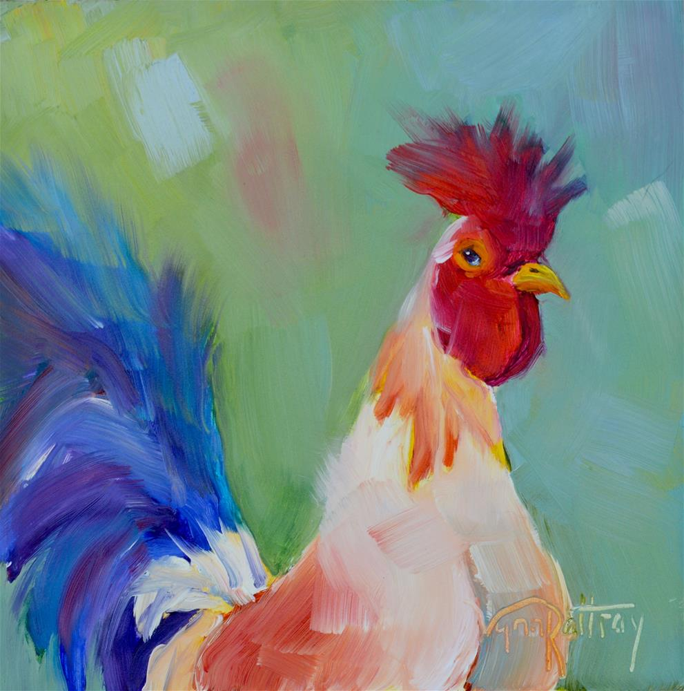 """Patches"" original fine art by Lynn Rattray"