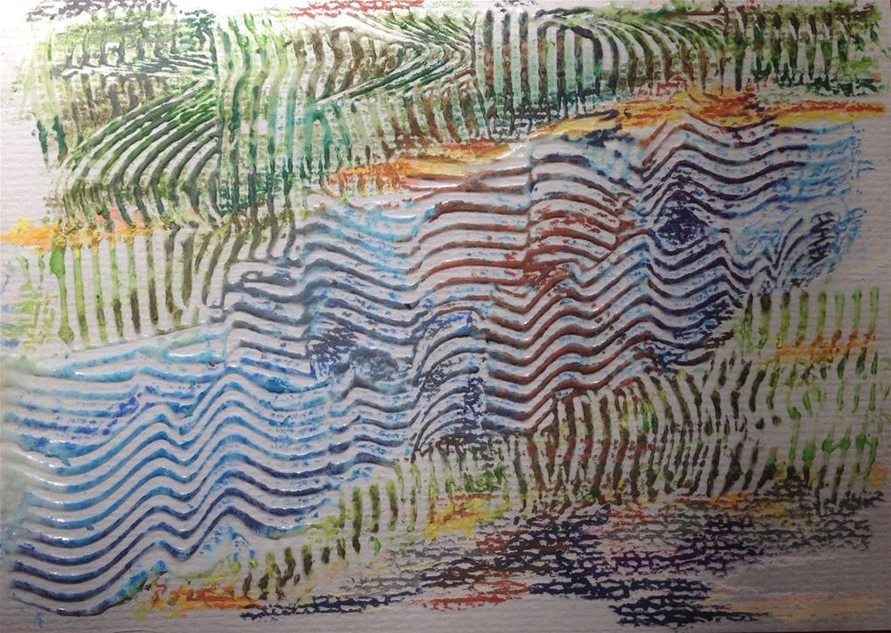 """Stepping Out"" original fine art by Dotty  Seiter"