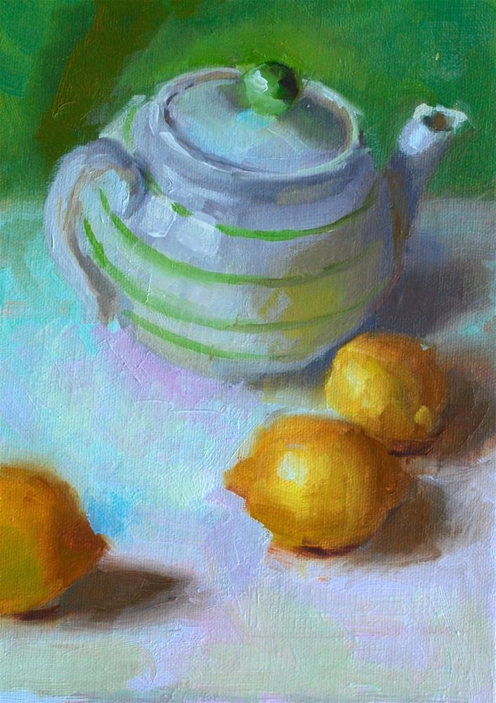 """The First Still Life"" original fine art by Susan McManamen"