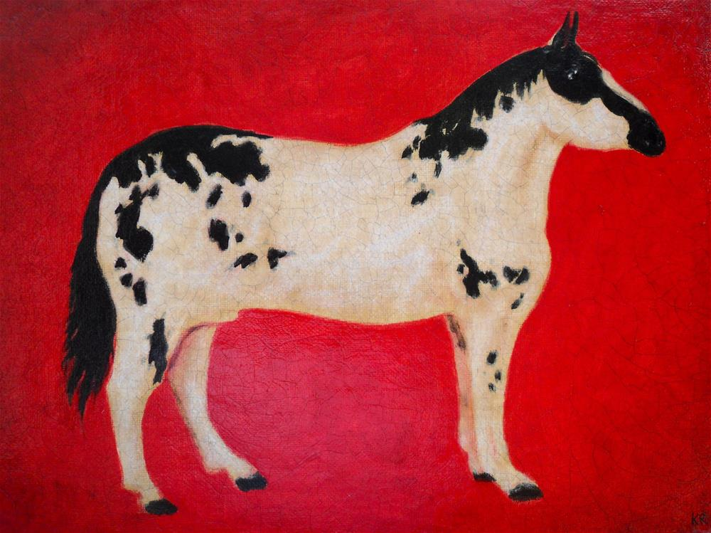 """Horse"" original fine art by Karen Roncari"