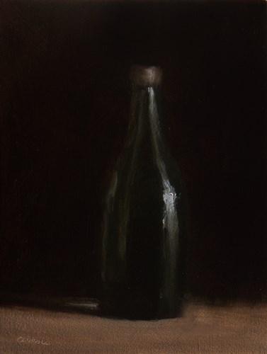 """""""One Green Bottle"""" original fine art by Neil Carroll"""
