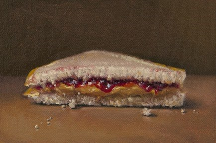 """PB & J    (+ Private Painting Mentoring Contest Winner)"" original fine art by Abbey Ryan"