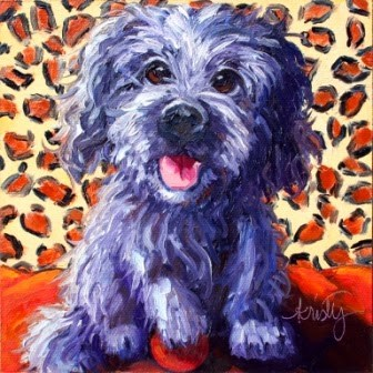 """ELLA"" original fine art by Kristy Tracy"