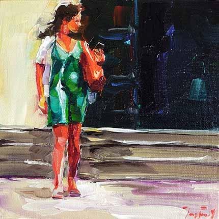 """""""Sonniger Tag"""" original fine art by Jurij Frey"""
