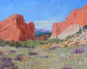 """Garden of the Gods"" original fine art by Robert Frankis"