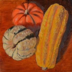 """Bumpy Vegetables"" original fine art by Robert Frankis"