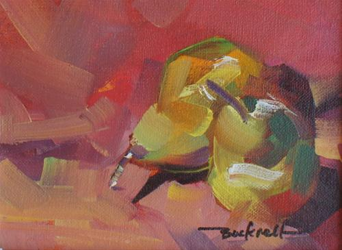 """Pears with a Punch"" original fine art by Brian Buckrell"