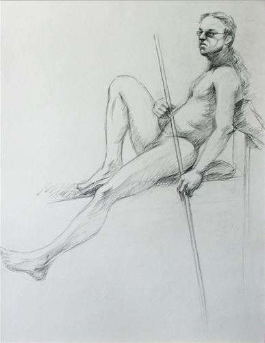 """Untitled"" original fine art by Michelle chen"