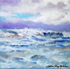 """Doing the Wave"" original fine art by JoAnne Perez Robinson"