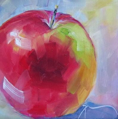 """""""An Apple A Day"""" original fine art by Gigi De"""