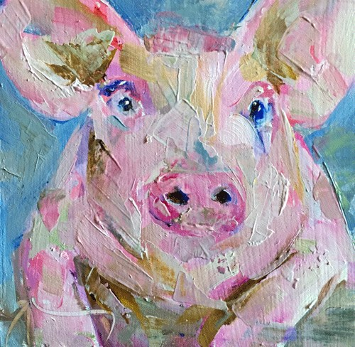 """Wilbur II"" original fine art by Gigi ."