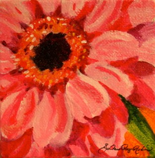 """Bye February, see you in 2014"" original fine art by JoAnne Perez Robinson"