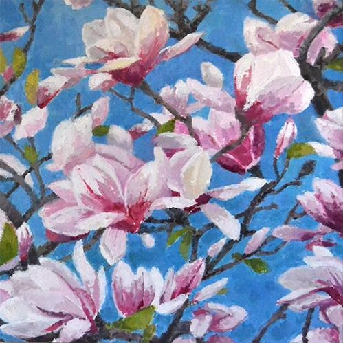 """Paradise Tree"" original fine art by Andrew Daniel"