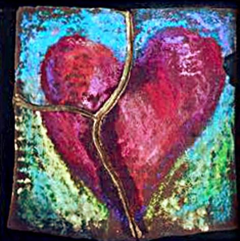 """""""Broken"""" original fine art by Kristen Dukat"""