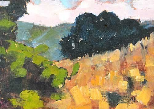 """Laguna Canyon 3"" original fine art by Kevin Inman"