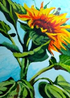 """Summer's Best"" original fine art by JoAnne Perez Robinson"