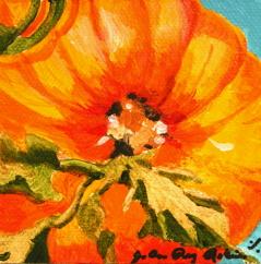"""""""Great Pumpkin Butt"""" original fine art by JoAnne Perez Robinson"""