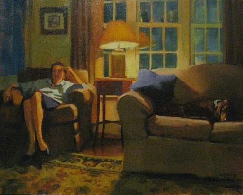 """Copley Show"" original fine art by Kathy Weber"